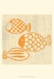 Best Friends - Fish Plakat af Chariklia Zarris