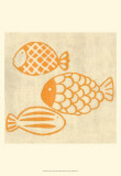 Best Friends - Fish Print by Chariklia Zarris