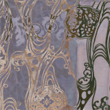 Medallions & Damask I Prints by Jennifer Goldberger