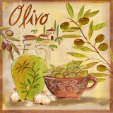 Olives II Posters by Rebecca Lyon