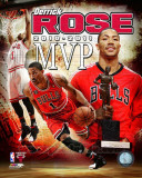 Chicago Bulls - Derrick Rose 2010-11 NBA MVP Composite Photo