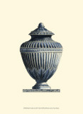 Blue Porcelain Urn III Prints