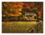 Autumn at the Mill Giclee Print by Danny Head