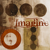 Imagine (Red) Prints by John Spaeth