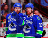 Vancouver Canucks - Henrik Sedin & Daniel Sedin Game 1 of the 2011 NHL Stanley Cup Finals(#6) Photo