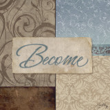 Become Affiche par Elizabeth Medley