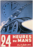 Le Mans 12 et 13 Juin 1954 Affischer
