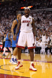 Dallas Mavericks v Miami Heat - Game Two, Miami, FL - JUNE 02: LeBron James Photographic Print by Mike Ehrmann