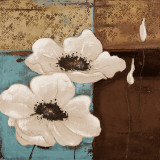 White Poppies I Art by Patricia Quintero-Pinto
