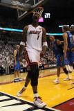 Dallas Mavericks v Miami Heat - Game Two, Miami, FL - JUNE 02: Chris Bosh Photographic Print by Ronald Martinez