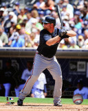 Atlanta Braves - Brian McCann 2011 Action Photo