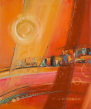 Sky of Many Suns I Kunstdrucke von Patricia Quintero-Pinto