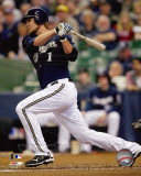 Milwaukee Brewers - Corey Hart 2011 Action Photo