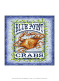Seafood Sign I Prints by Sydney Wright