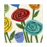 Pop Roses I Giclee Print by Megan Meagher