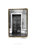 The Doors of Venice III Premium Giclee Print by Laura Denardo