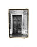 The Doors of Venice III Premium Giclee Print by Laura Denardo