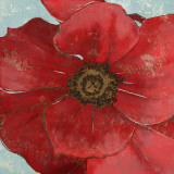 Exotic Poppy II Prints by Patricia Quintero-Pinto