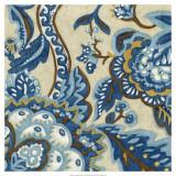 Custom Indigo Tapestry II Posters by Chariklia Zarris