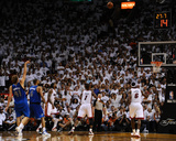 Dallas Mavericks v Miami Heat - Game Two, Miami, FL - JUNE 2: Dirk Nowitzki Photographic Print by Garrett Ellwood