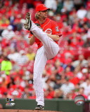 Cincinnati Reds - Bronson Arroyo 2011 Action Photo