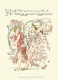 Shakespeare's Garden VI (Carnation) Kunstdruck von Walter Crane