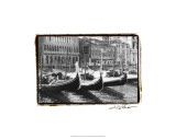 Waterways of Venice X Premium Giclee Print by Laura Denardo