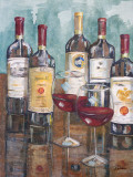 Wine Tasting II Posters by Heather A. French-Roussia