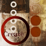 Create (Red) Art by John Spaeth