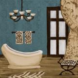 Blue Beach Bath III Poster by Gina Ritter