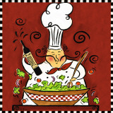 Chef Special II Prints by Rebecca Lyon
