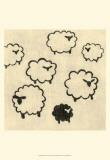 Best Friends - Sheep Poster af Chariklia Zarris