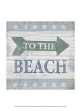 Beach Sign VII Prints