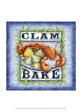 Seafood Sign III Prints by Sydney Wright