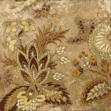 European Floral on Beige I Prints by Lanie Loreth