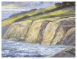 Rocky Coast II Print by H. Thomas