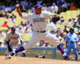 Chicago Cubs - Carlos Zambrano 2011 Action Photo