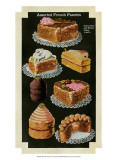 French Pastries IV Posters