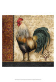 French Rooster I Print by Abby White