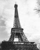 Eiffel Tower II Art by Alison Jerry