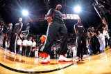 Dallas Mavericks v Miami Heat - Game Two, Miami, FL - JUNE 2: LeBron James Photographic Print by Andrew Bernstein