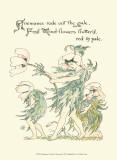 Shakespeare's Garden I (Anemone) Kunst von Walter Crane