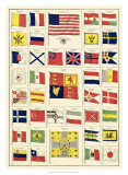 Flags of All Nations II Giclee Print