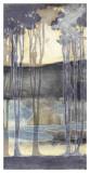 Embellished Nouveau Landscape II Posters by Jennifer Goldberger