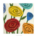 Pop Roses II Giclee Print by Megan Meagher