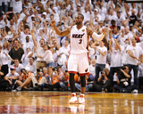 Dallas Mavericks v Miami Heat - Game Two, Miami, FL - JUNE 2: Dwyane Wade Photographic Print by Garrett Ellwood