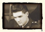 Elvis Quits U.S. Army, 1960 Poster by  British Pathe