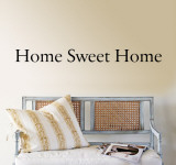 Home Sweet Home Autocollant mural