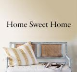 Hjem kjære hjem Veggoverføringsbilde