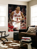 Miami Heat v Chicago Bulls - Game Five, Chicago, IL - MAY 26: Derrick Rose Wall Mural by Jonathan Daniel